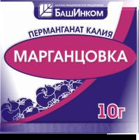 Перманганат калия (марганцовка) пакет 10 г